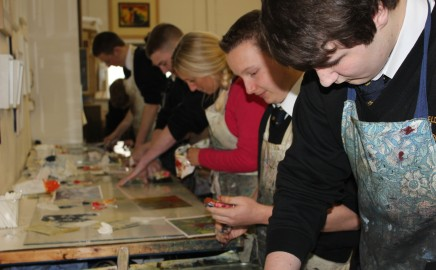 Sea Court Print Workshop