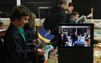 Primary School Students flock to Ashfield Boys' Open Night