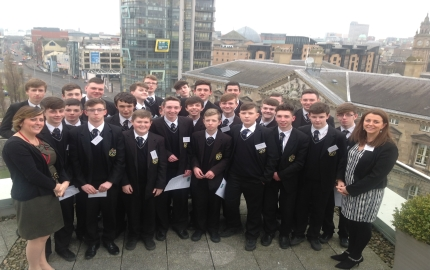 Year 11 Business class attend a day in Allen & Overy