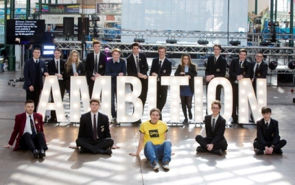 Business Enterprise club attend Generation Innovation Launch for the Night of Ambition