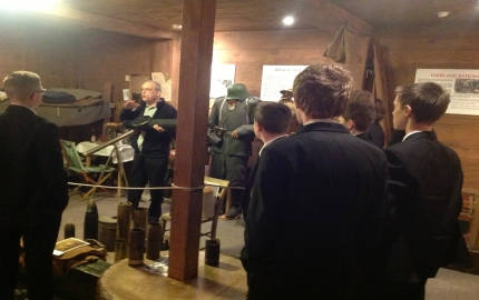 Year 10 visit Somme Centre