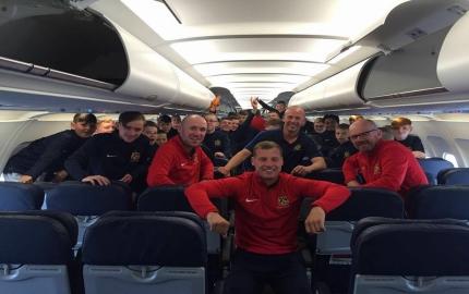 Euro 2016 Trip Departs….