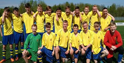 Ashfield U15s win Belfast Cup