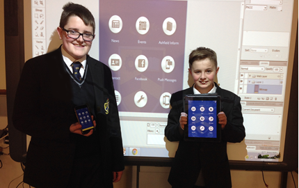 First stage of our School App launch is underway