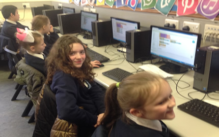Connected Learning Days – Building Apps with Knocknagoney & Victoria Park PS