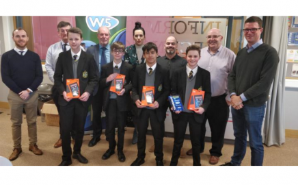 Ashfield Boys' win Techknow challenge 2018