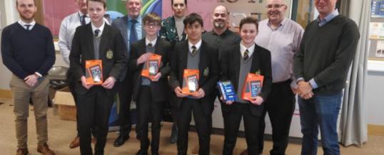 Ashfield Boys' win Techknow challenge 2018