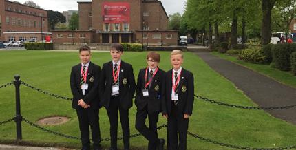 Y9 pupils begin their Queen's Junior Academy journey….