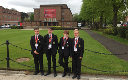 Y9 pupils begin their Queen's Junior Academy journey….