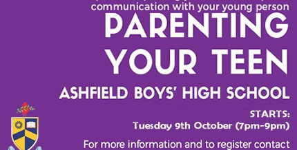 Parenting Your Teen – an opportunity for parents in our local community